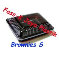 Mika Brownies S/ Box Brownies/ Mika Kue/ Kotak Kue/ Tray Kue