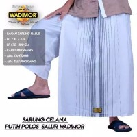 Sarung Celana Putih WADIMOR MURAH Polos