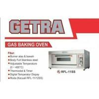 Mesin Gas Baking Oven GETRA RFL-11S / CROWN / OVEN FREE JABODETABEK