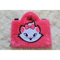 Tas Laptop Marie Cat Fanta Lebat 10-17 Inch Softcase Kucing Lucu