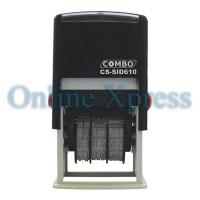 Stempel Tanggal / Stempel Angka / SelfInking / Date Stamp SID 610 Comb