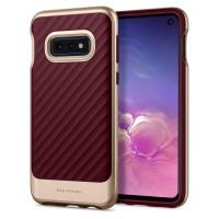 Case Samsung Galaxy S10e S10 E SPIGEN Neo Hybrid Original - Burgundy