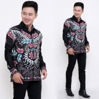 Kemeja Batik Pria Lengan Panjang Murah Pekalongan Baju Batik Pria