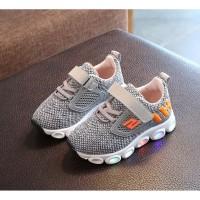 SKCHERS Sepatu Sport Anak Laki-Laki Casual Bayi Dengan Lampu LED