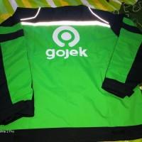 NewProduk jaket gojek MOTOR waterprof - Hijau, M Mantul