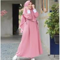 Nessa Syari Set Hijab | Dress Muslim | Gamis Wanita Murah & berkualita