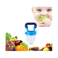 Bayi Buah Dot Feeder Makanan Bayi Buah Molar Toy Alat Makan Bayi Z07 - Merah Muda, M