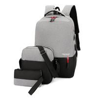 Freeknight Tas Ransel Pria 3in1 Casual Backpack Sekolah TR805