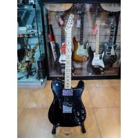 Fender Classic Series 72 Telecaster Custom Black Maple Neck w/Gigbag