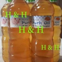 Promo Minyak Babi / Pork Oil ( 600 Ml ) Berkualitas