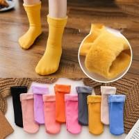 Kaos Kaki Katun Tebal Thermal Winter Sock Velvet Import Untuk Anak
