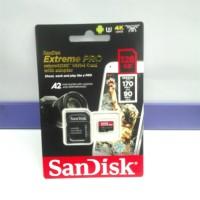 Micro SD Extreme PRO SanDisk 128GB 170Mbps ORIGINAL GARANSI RESMI