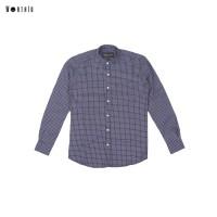 Worth ID Collar Shirt Navy - S