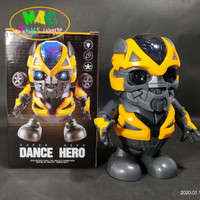 MAINAN ROBOT DANCE HERO TRANSFORMER BUMBLEBEE