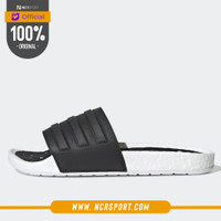 Sandal Sneakers Adidas Adilette Boost Slides Black White Original EG19