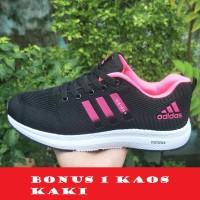 Sepatu Olahraga Wanita Adidas Zoom Original Import Pink