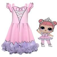 Girls Clothes Princess Dress lol surprise Dress Girl Kids Dress Girl D