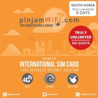 Sim Card Korea Selatan Truly Unlimited 8 Days | Simcard South Korea