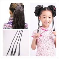Rambut Kepang Panjang 35 cm Aksesories Hiasan Rambut Palsu Kostum