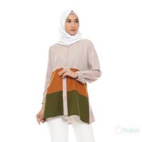 Tazkia Hijab Store | Atasan Muslim Wanita | Talita Tunik | Moscrepe