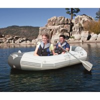 Perahu Karet rafting muat 3 orang dapat Dayung 2 Pompa uahan tebel