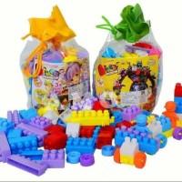 mainan lego block 78pcs
