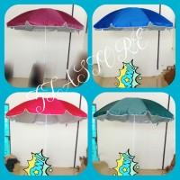 payung pantai 180 cm model susun payung tenda payung Cafe payung bazar