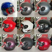 Helm KYT Djmaru Red, Maron, Blue, Black, Doff, White, Purple, Grey