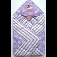 Selimut Topi Baby Hai / Hoodie Blanket baby / Selimut Bayi (Termurah)