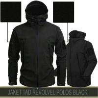 JAKET TACTICAL TAD POLOS BLACK