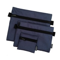 KEE Pouch Set Travel Organizer Mono Edition Navy