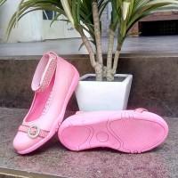 sepatu anak perempuan slip on flat Merk Kipper Tipe cindy ukuran 26-30