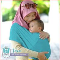 Geos Gendongan Kaos Bayiku.id 2in1 Instant Baby Wrap - L ⠀⠀⠀