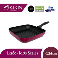 KIRIN GRILLED PAN| LADO-LADO | 26 | TEFLON CLASSIC | 1.9MM