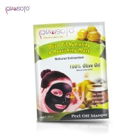QIANSOTO Peel Off Masque Olive Oil Hydrating & Nourishing Mask Sachet