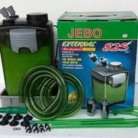 jebo 825 filter external canister aquarium, aquascape dan kolam ikan