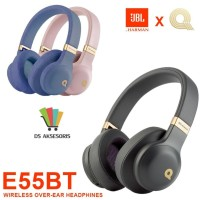 HEADPHONE WIRELESS BLUETOOTH E55BT - Biru