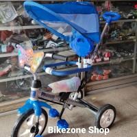 Sepeda Roda Tiga Anak BMX Sinchan jagaan dorongan kanopi Yoe Yoe