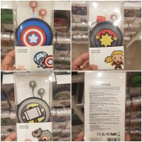Earphone Miniso Original Marvel Edition