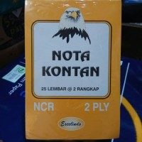 Buku Bon Nota Kontan 2 ply / Rangkap 2 Kecil Excelindo (10 buku)