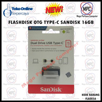 Flashdisk OTG Sandisk Type-C To USB 16GB Original
