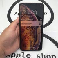 iPhone XS Max 256gb gold second fullset