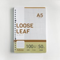 HVS GRID - Loose Leaf A5 100 gsm by Bukuqu