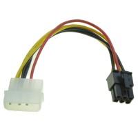 Kabel Power VGA 1 molex to 6 pin