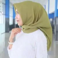 hijab jilbab kerudung instan segi empat warna polos murah harga grosir