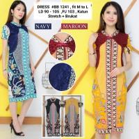 Dress Batik Imlek / Batik Dress Wanita Modern