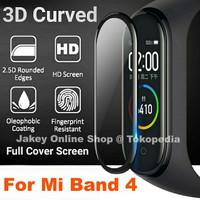 Antigores 3D CURVED Miband 4 Screenguard Xiaomi Mi Band 4 no tempered