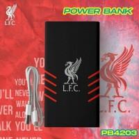 PowerBank Veger 10000, 12500 & 20000 mAh Liverpool FC Edition Original