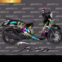 sticker decal yamaha mio fino joker