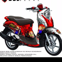 sticker decal yamaha Mio Fino
